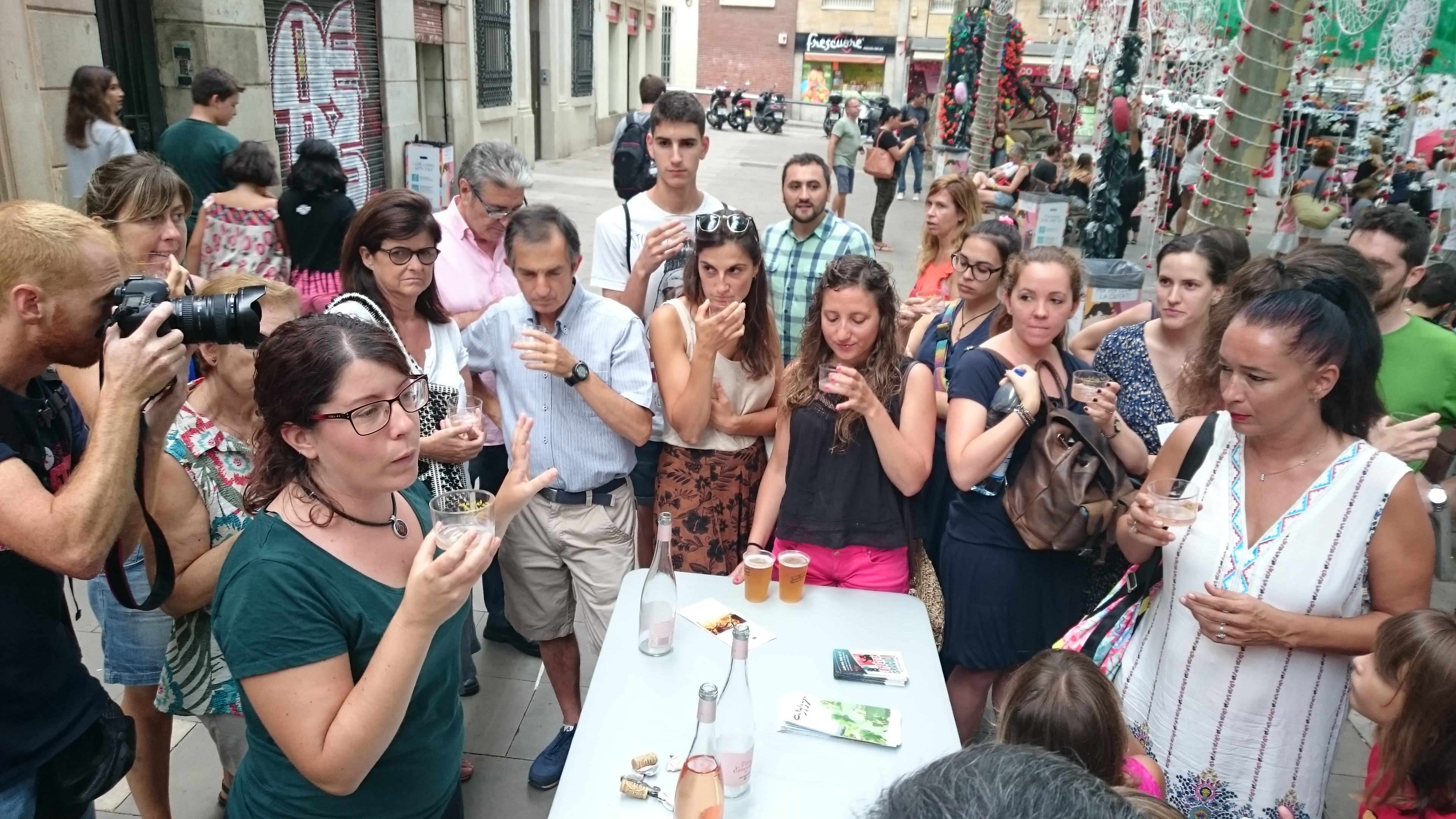 Una ruta dels vins: tastos guiats per arribar al consumidor