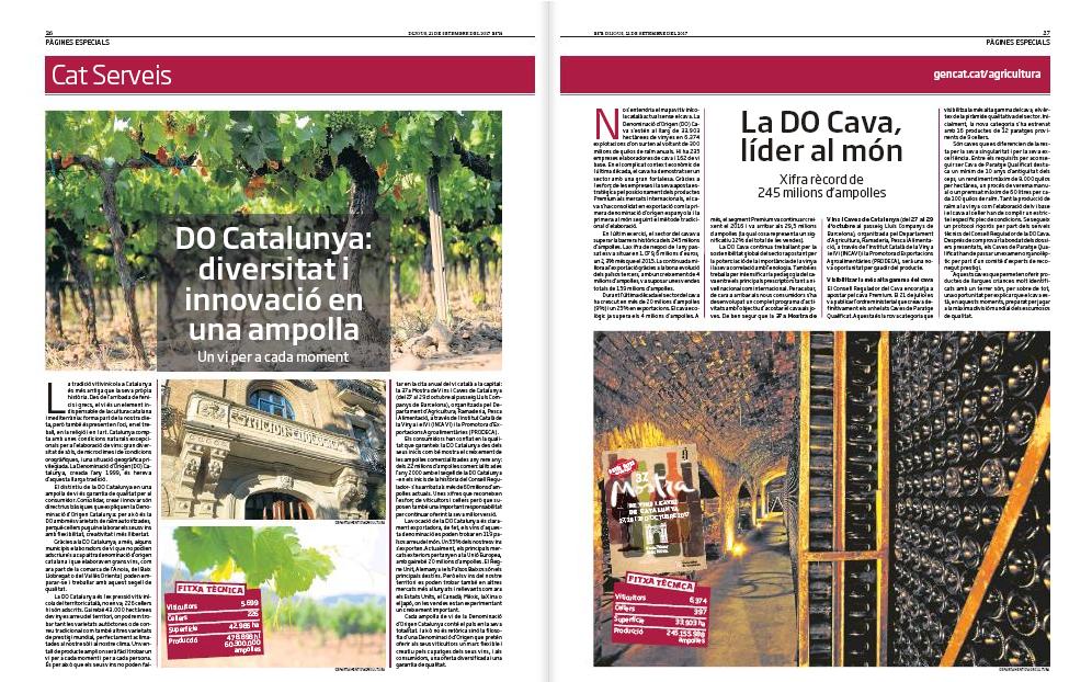 Incavi i Pcats de la mà pel vi català