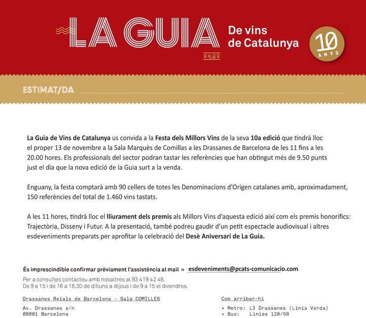 Una oportunitat única per tastar els millors vins i caves de Catalunya