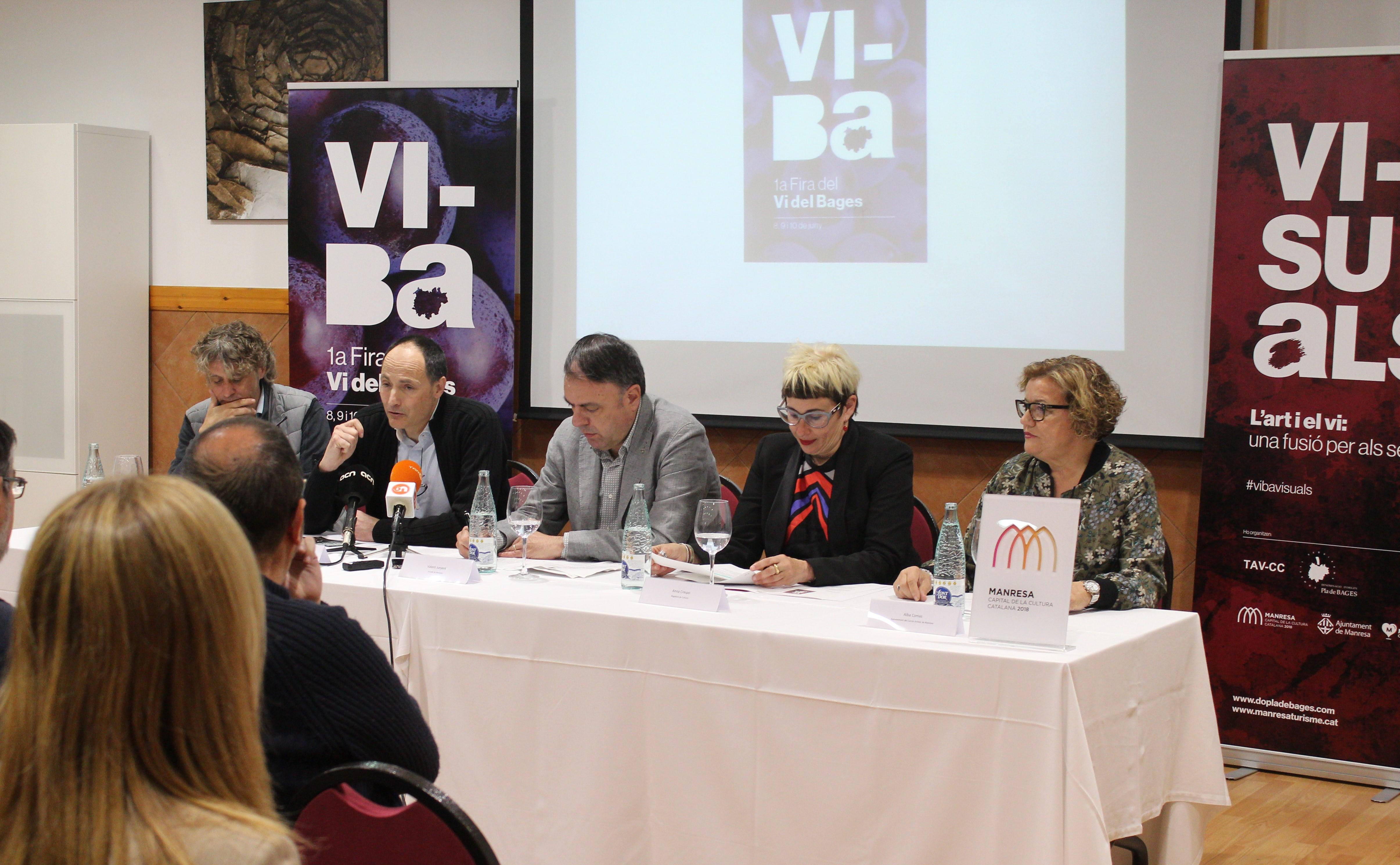 La 1a Edició de la Fira Vi-Ba arriba a Manresa del 8 al 10 de juny