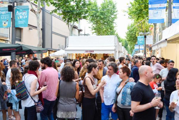 Celebrada amb èxit de crítica i públic la 7a fira vinícola Temps de Vi