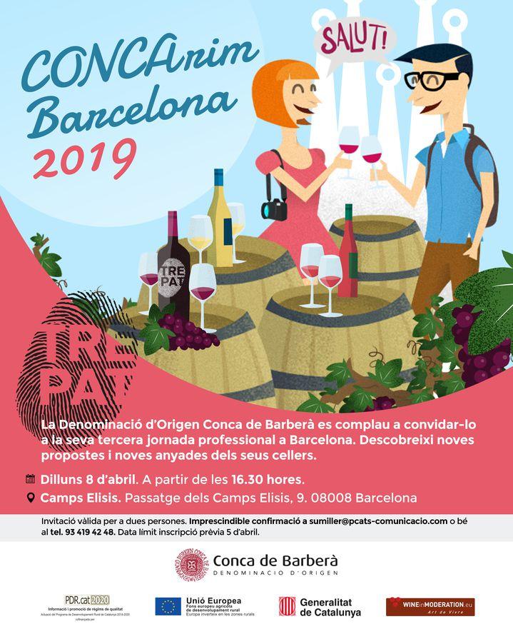 La DO Conca de Barberà aterriza de nuevo en Barcelona el próximo 8 de abril