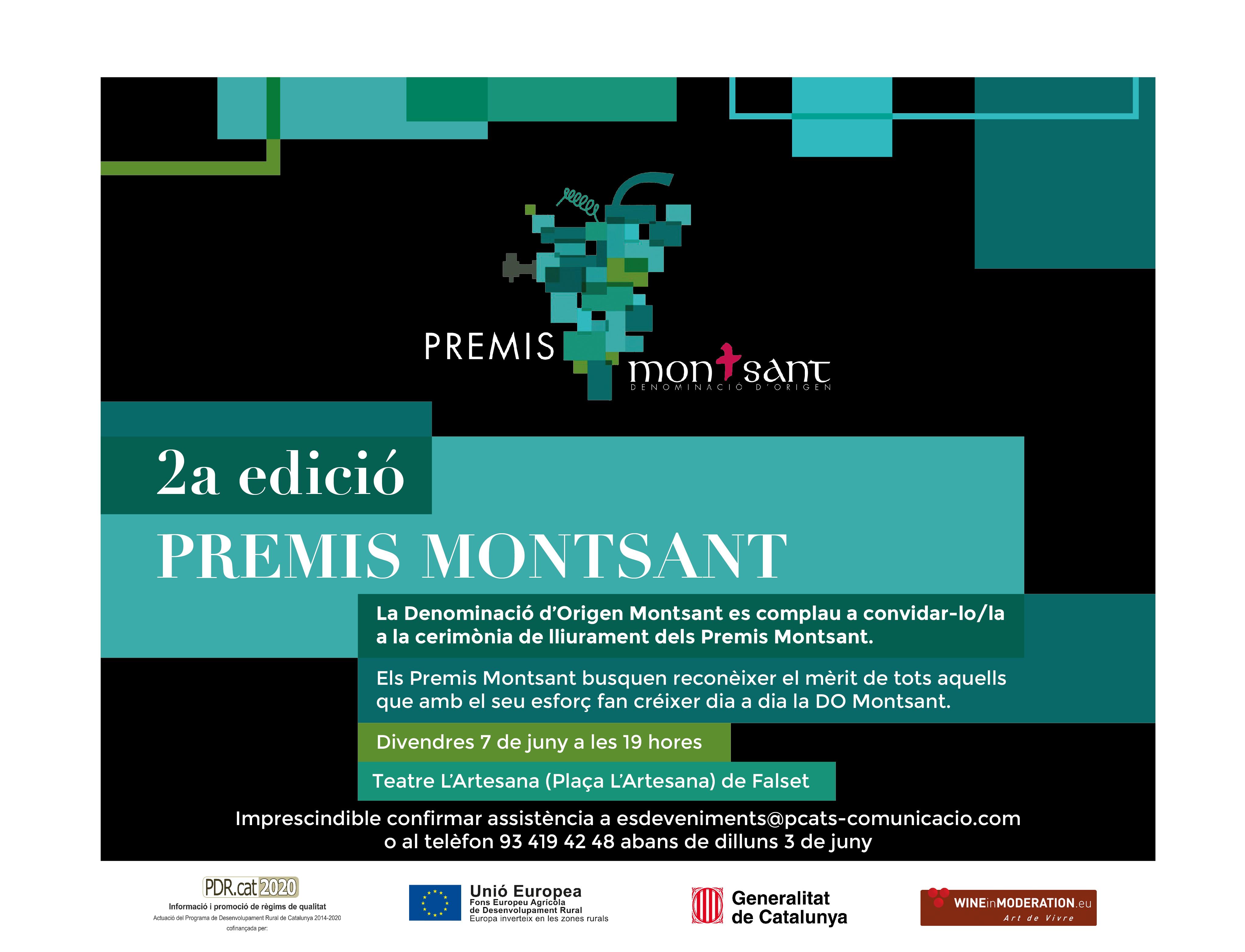 [:ca]2a edició dels Premis Montsant[:es]2ª edición de los Premios Montsant[:]