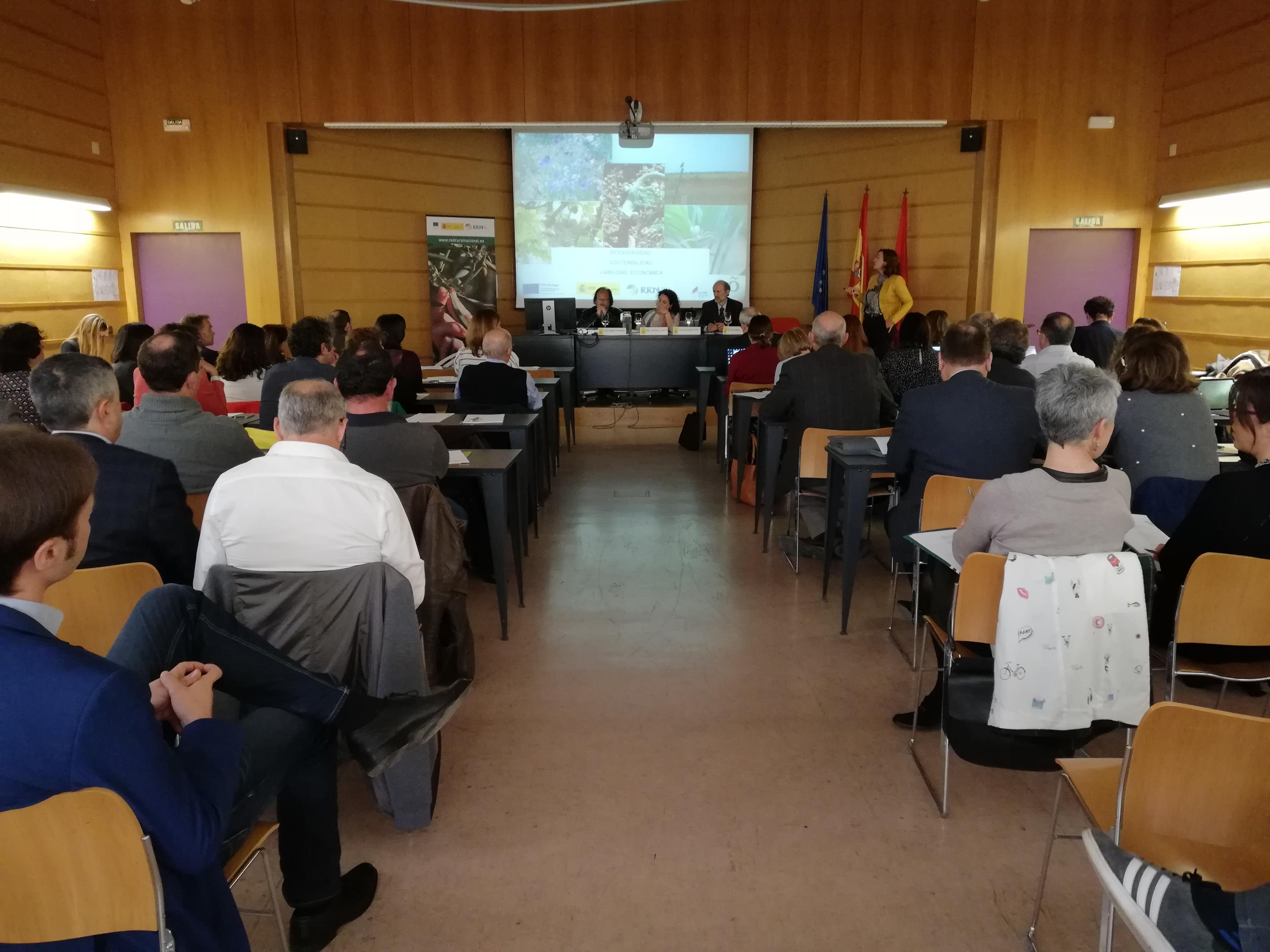 Jornada en Olite (Navarra) sobre el papel de las DDOO en las zonas rurales