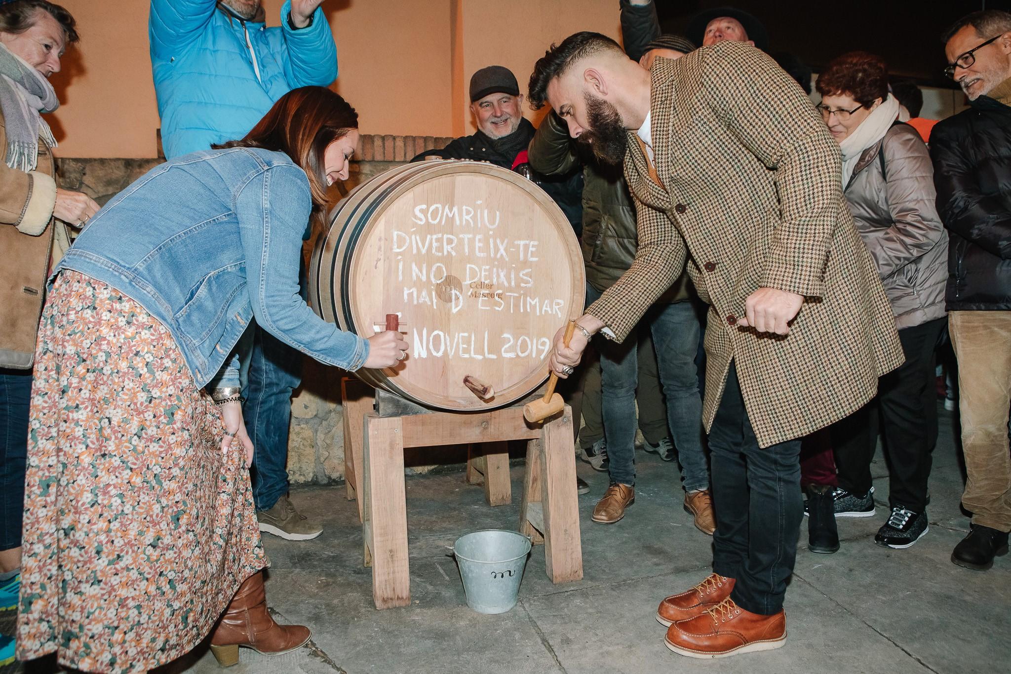 Gran èxit d'assistència a la Festa del Vi Novell del Celler Masroig durant el seu desè aniversari