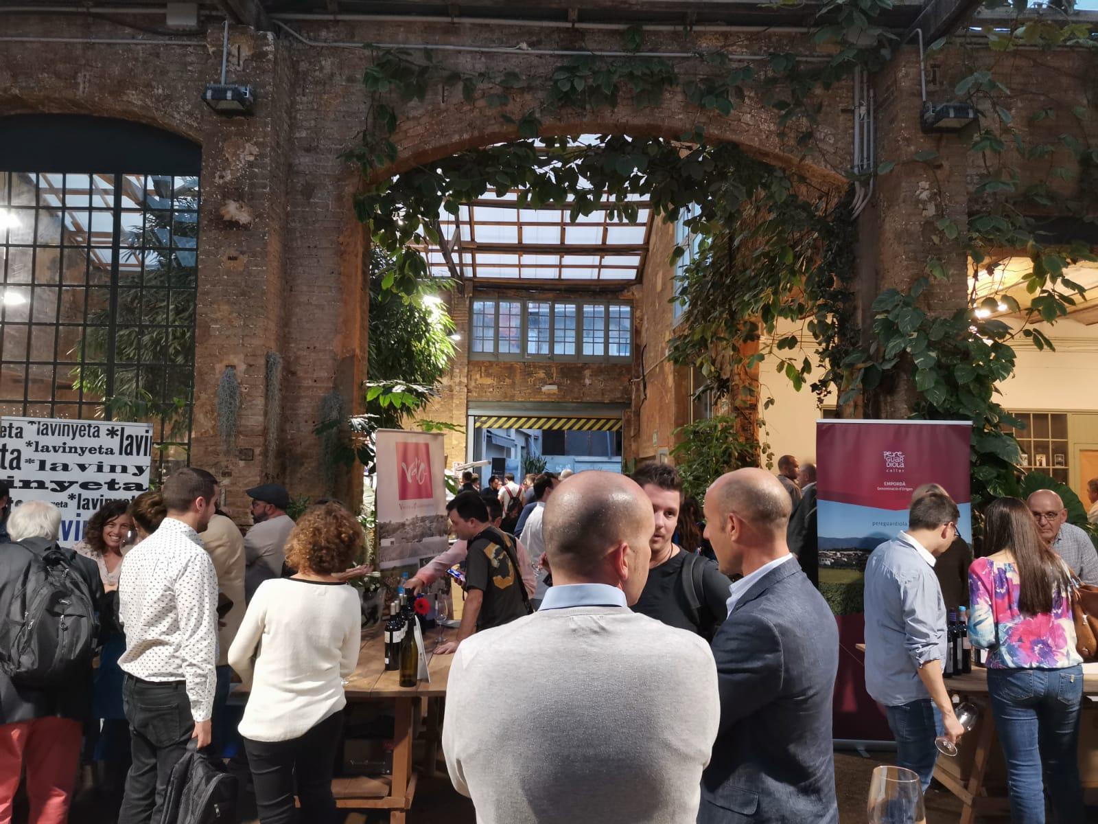 Más de 500 profesionales disfrutan de los mejores vinos de Tramuntana en Barcelona