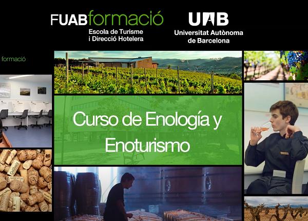 Empieza la 4ª edición del curso de Especialización en Enología y Enoturismo de la UAB