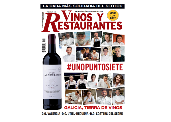 Vinos y Restaurantes nos felicita por nuestro 15 aniversario