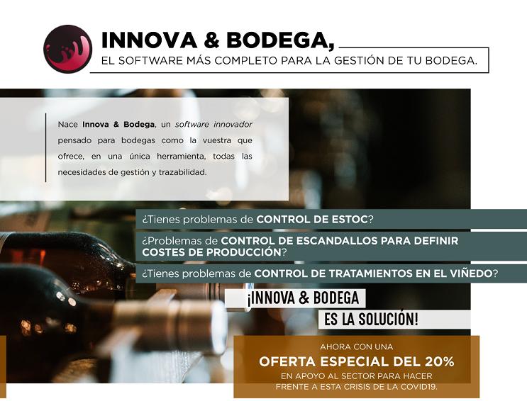 Innova & Bodega, l'aplicació per a la gestió integral dels cellers