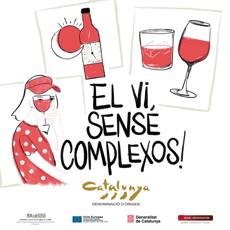 El vi, sense complexos: la nova campanya de la DO Catalunya