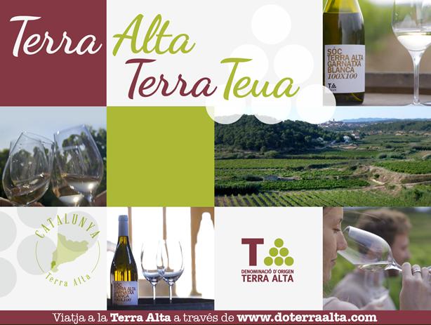 La DO Terra Alta presenta 'Terra Alta, Terra Teua', una campanya que convida a gaudir de la comarca a través dels seus vins