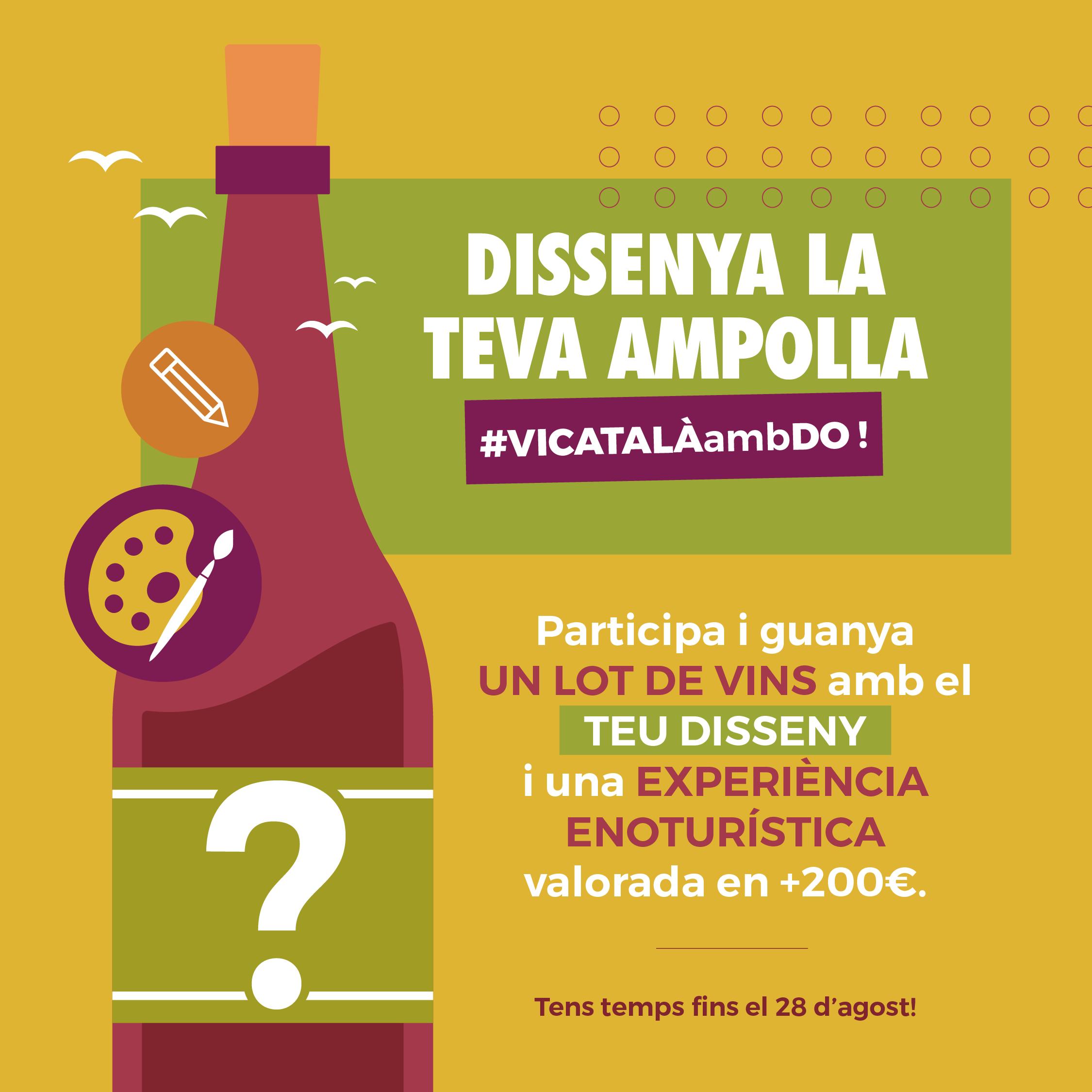 """La campanya """"Gaudeix del que és bo"""" organitza un concurs estival per dissenyar etiquetes de vi"""
